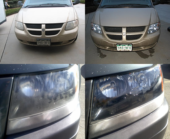 Headlight Restoration First Choice Reconditioning